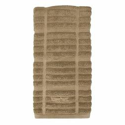 all clad antimicrobial kitchen towel solid mushroom