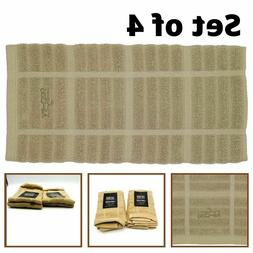 All-Clad Kitchen Towels Dish Cloths Heavy Duty Absorbent Tan