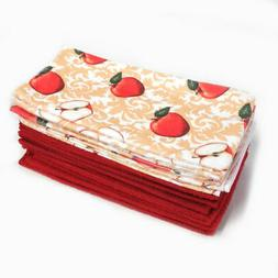 Smart Home Apple Design Kitchen Towels - 15-Pack