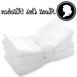 Aunti Em's Kitchen 100% Cotton Cloth Dinner Napkins, 12 Pack