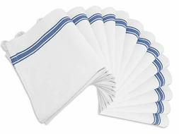 Aunti Em's Kitchen Dish Towels Set 13 Pack Natural Cotton Fa