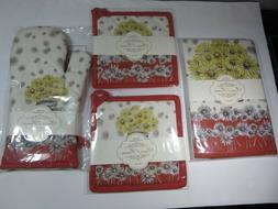 Maison d' Hermine Bagatelle 100% Cotton Set of 3 Kitchen Tow