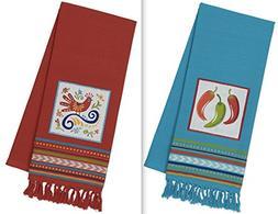DII Design Imports Baja Cantina Talavera Embellished Kitchen