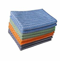 Gryeer Bamboo and Microfiber Kitchen Towels - 8 Pack  - Supe