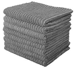 Gryeer Microfiber Kitchen Towels - Super Absorbent Dish Towe