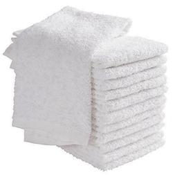 Bar Mop Towel 12 Pcs 16x19 100% Cotton Cleaning Rags Kitchen