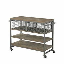 Home Styles 5053-95 Barnside Metro Kitchen Cart