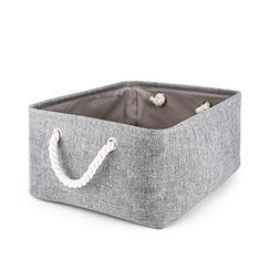 Storage Basket,Mee'life Foldable Linen Storage Bins Fabric O