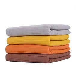 Bathroom Hand Towels, Cotton Towels Sets, 4 Packs- Super Sof