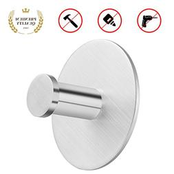 KAMLYNN Bathroom Hook with Suction Cup Holder Removable Hook