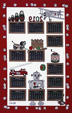 Beauvillé, 2019 Annual French 12 Month Calendar - Jouets -