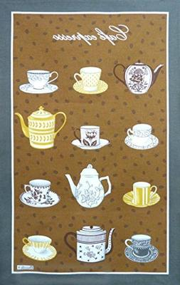Beauville, Cafe Expresso  French Kitchen / Tea Towel