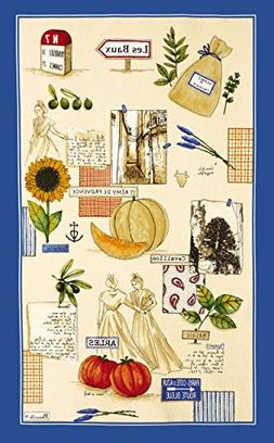 Beauville, Plein Sud French Provence Kitchen / Tea Towel, Si