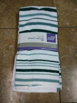 Better Home & Gardens 4-Pack Oversize Kitchen Dish Towels 16