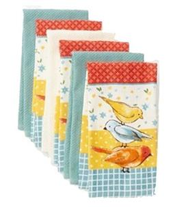The Big One Bird Kitchen Towel Set of 6