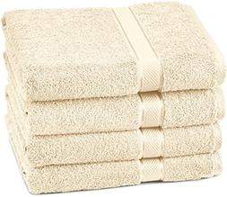 Pinzon Egyptian Cotton Bath Towel Set  - Cream