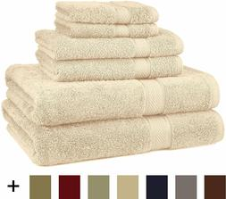 Pinzon Blended Egyptian Cotton 6-Piece Towel Set