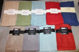 Brand New 2 Pack Kitchen Towels, 9 Different Color Sets, 100