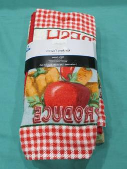 Brand New 5 Pack of Kitchen Towels Fresh Produce Fruits Vege