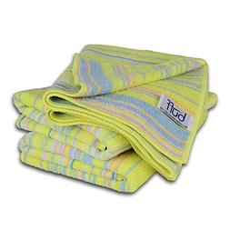 Buff Home Microfiber Kitchen Drying Towels - 3 Pack | Fun, R