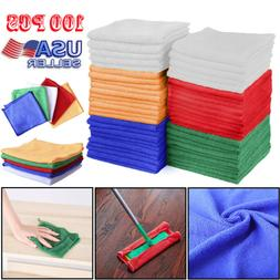 Bulk Microfiber Cleaning Cloth Commercial Towels Set Bath Ki