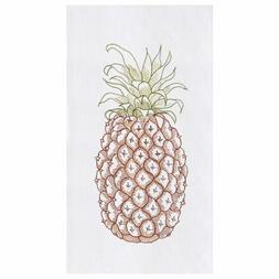 "C&F Home 18"" x 27"" Pineapple Flour Sack Kitchen Towel"