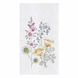 "C&F Home 18"" x 27"" Floral Garden Flour Sack Kitchen Towel"