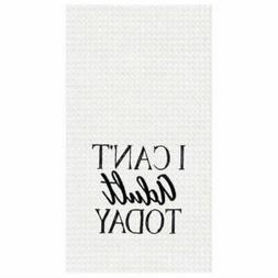 C&F Home Can't Adult Today Towel Waffle Weave Kitchen Towel