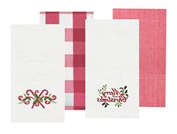 C&F Home Merry Christmas Kitchen Waffle Weave Kitchen Towel