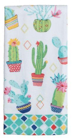 Cactus Terry Towel Kitchen Towel Kay Dee Cactus Garden Pattern