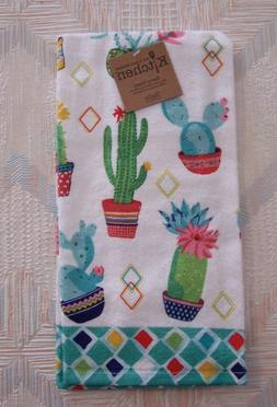 cactus terry towel kitchen towel cactus garden