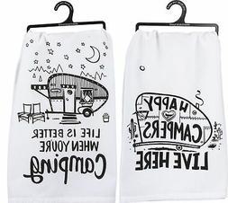 Primitives by Kathy Camper Towel Bundle - Happy Campers and