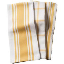 KAF Home Centerband/Basketweave/Windowpane Kitchen Towels, S