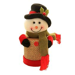 NEARTIME Child Kids Christmas Candy Jar Storage Bottle Santa