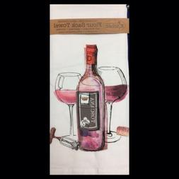Kay Dee Designs Choice Wine Flour Sack Towel One Size