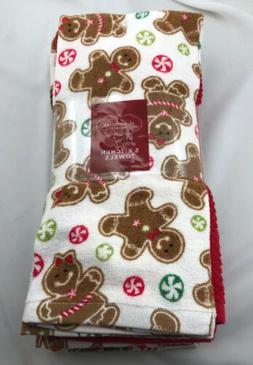 St Nicholas Square Christmas Kitchen Cotton Dish Towels Ging