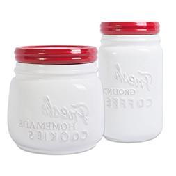 DII 2-Piece Vintage, Retro, Farmhouse Chic, Mason Jar Inspir