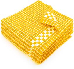 Fecido Classic Dark Kitchen Dish Towels with Hanging Loop -