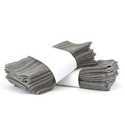 Classic Two Dozen Value Pack Terry Cloth Washcloths / Face T