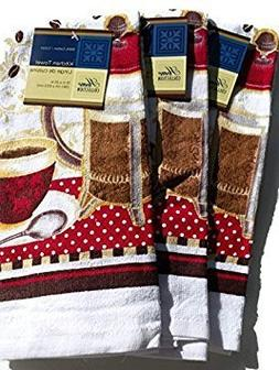 Coffee Theme Kitchen Towel Set