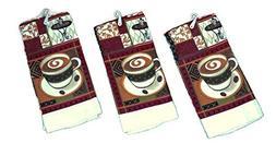 Coffee Theme Kitchen Towel Set