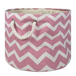 collapsible polyester storage basket bin