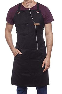 MENT Trends Professional Cooking Apron Chef Designed for Kit