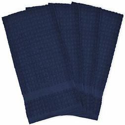 "DII Cotton Waffle Terry Dish Towels, 15 x 26"" Set of 4, Ultr"
