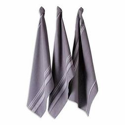 """DII Cotton Oversized French Stripe Dish Towels, 20 x 30"""" Set"""
