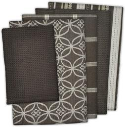 """DII Cotton Oversized Kitchen Dish Towels 18 x 28"""" and Dishcl"""