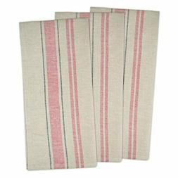 "DII Cotton Oversized French Stripe Dish Towels, 20 x 30"" Set"