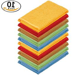 DecorRack 10 Pack 100% Cotton Bar Mop, 16 x 19 inch, Ultra A