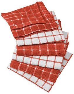 Dii 100% Cotton Basic Everyday Kitchen Dish Cloth, Windowpan