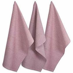 "DII Cotton Chambray Dish Towel, 20x30"" Set of 3, Monogrammab"